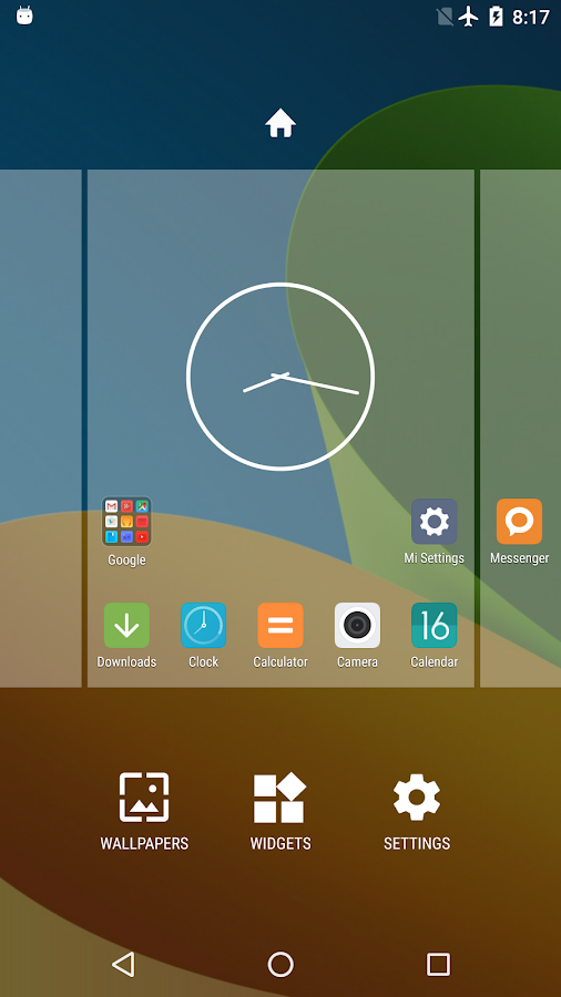 Mi Launcher- screenshot