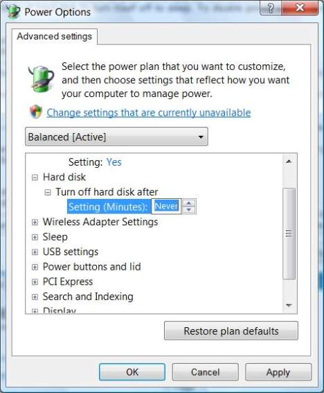 How To Fix Driver WUDFRd Failed To Load - Disable Hard Disk Hibernation