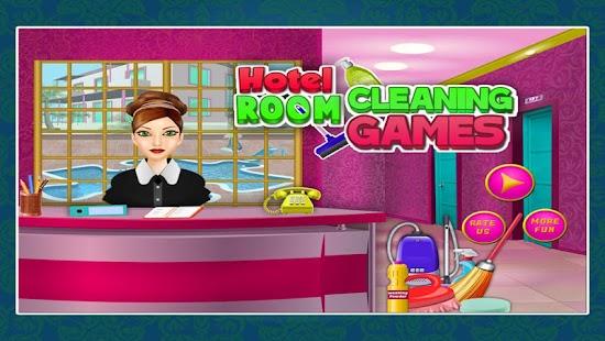hotel pokoj čištění hry - náhled
