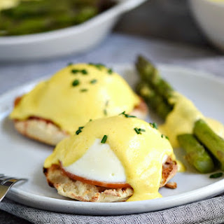 Classic Eggs Benedict.
