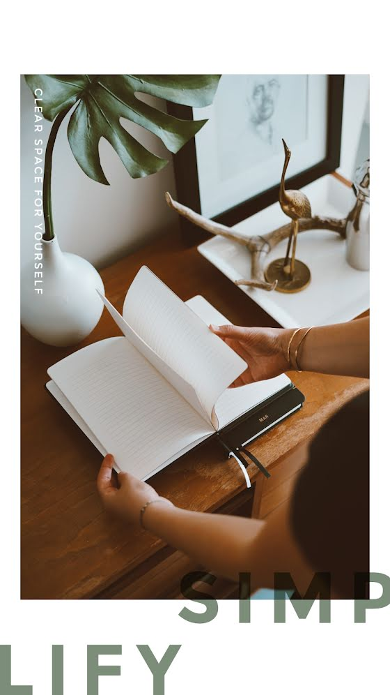 Clear Space for Yourself - Facebook Story Template