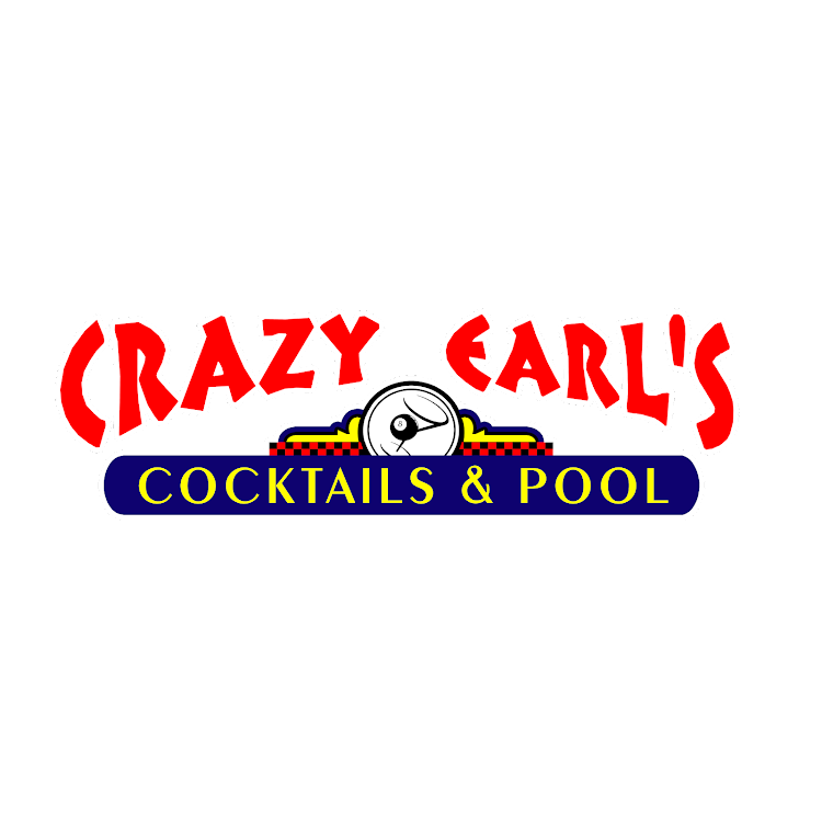 Logo for Crazy Earl's Cocktails & Pool