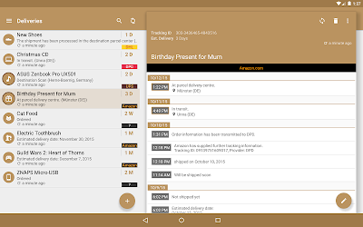 Deliveries Package Tracker 5.4 [Pro Unlocked] MOD APK 7