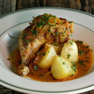 Hungarian Paprika Chicken