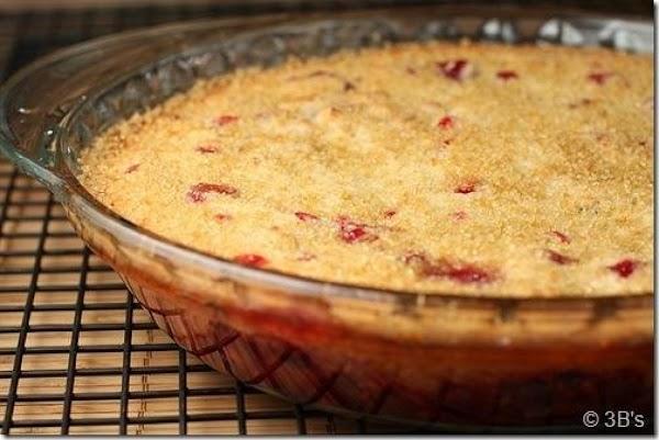 Easy Cranberry Cobbler Recipe