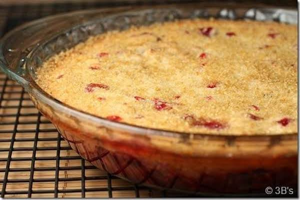 Easy Cranberry Cobbler Recipe