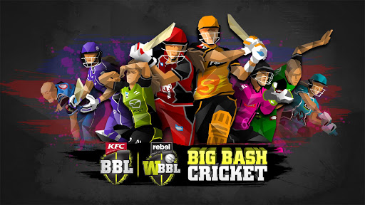 Big Bash Cricket  captures d'u00e9cran 1