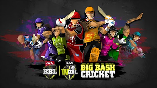 Big Bash Cricket Mod Apk v2.0 (Unlimited Money, Coins) 1