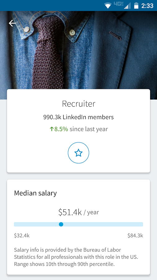 LinkedIn Students- screenshot