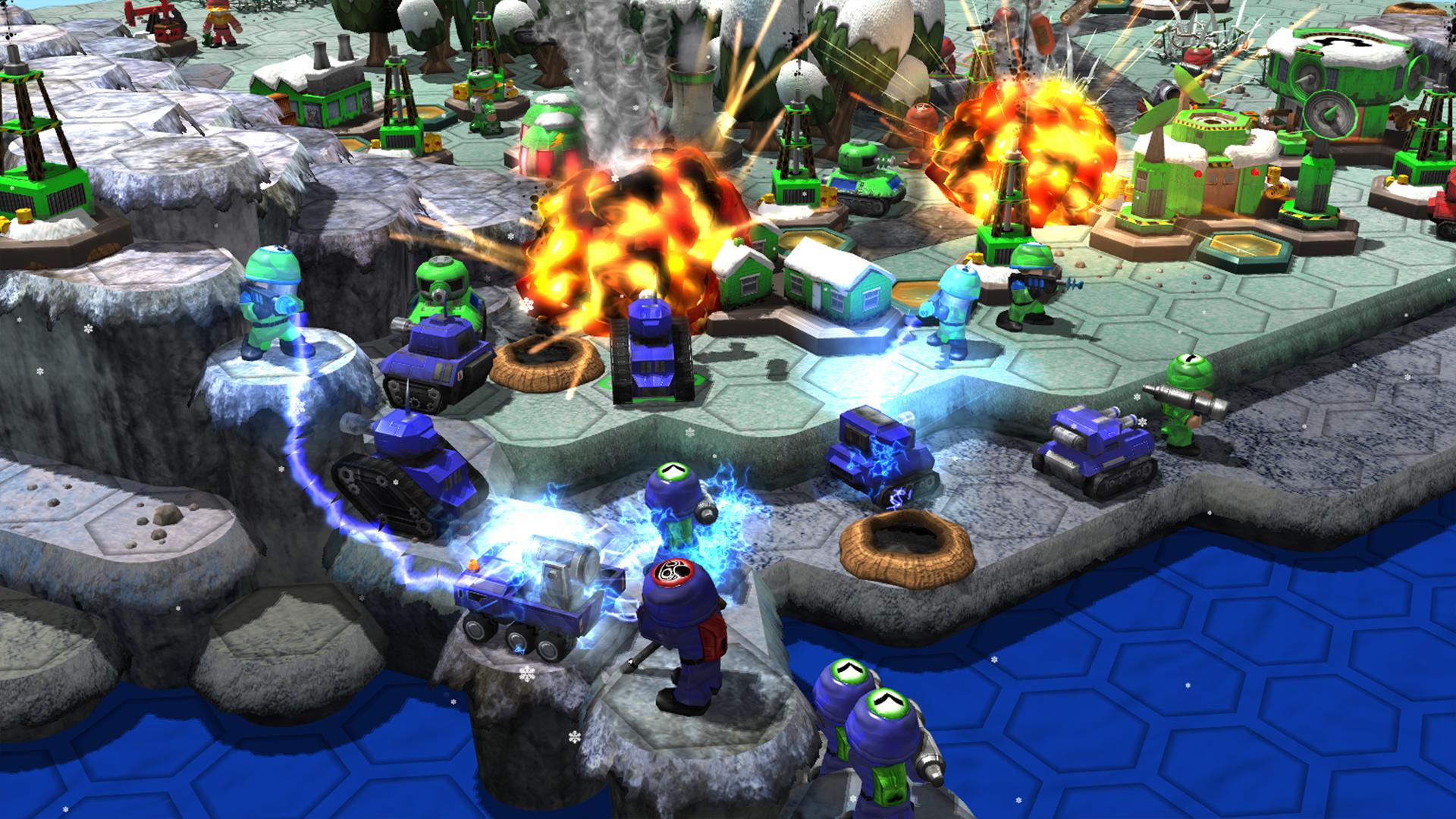 Epic Little War Game screenshot #2