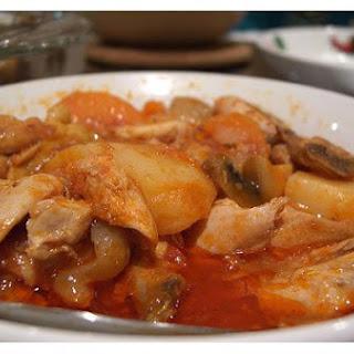 Chicken Peanut Stew.