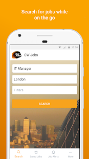CWJobs- screenshot thumbnail