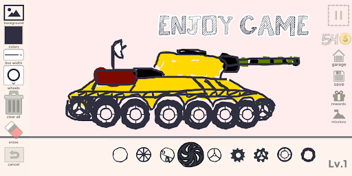 Draw Your Car - Create Build and Make Your Own Car 1.9 Screenshots 10