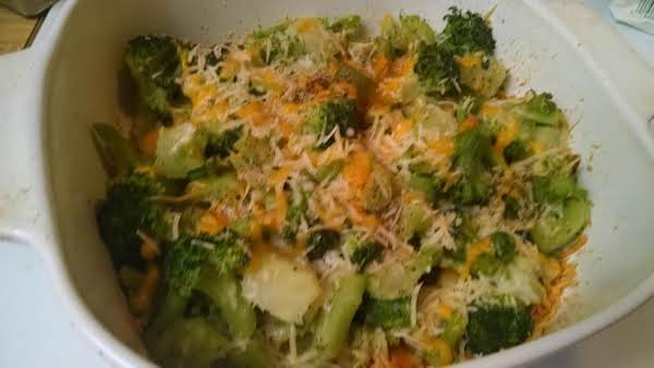 Parmesan Broccoli Bake