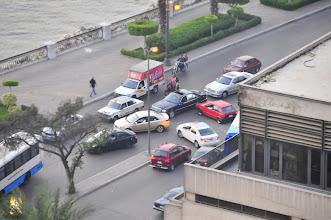 Photo: Cairo left turn