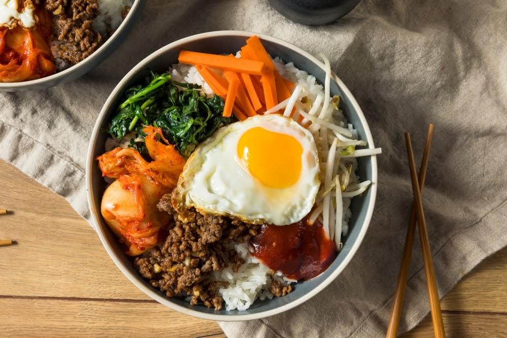 platos gastronomia coreana