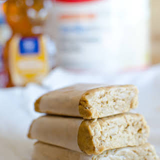 Easy Peanut Butter Protein Bars.