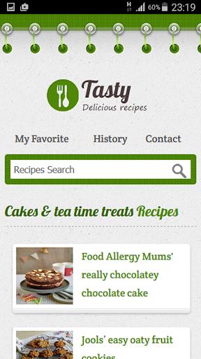 Cakes Tea Time Treats Recipe