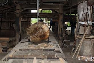 Photo: Das alte Sägewerk ist am Mühlen- und Denkmalstag für Besucher geöffnet.