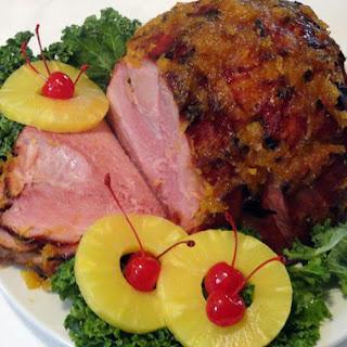 Glazed Ham.