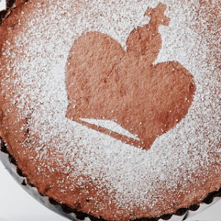 Malted Chocolate Chess Pie