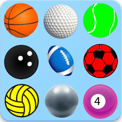 Learn Colors With Sport Balls - Kids Game