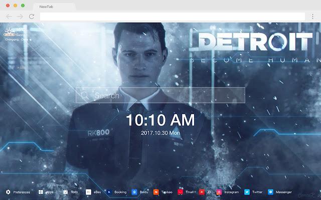 Detroit: Become Human HD Wallpaper Game
