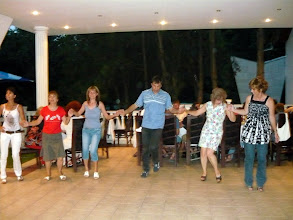 Photo: ...and my Mom even learned how to Horo (the bulgarian national dance) !