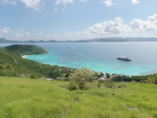 White Bay on Jost Van Dyke in the British Virgin Islands is a favorite of SeaDream cruise guest.