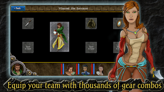 Heroes of Steel RPG Screenshot 5