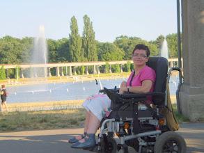 Photo: 14 VII 2010 roku -  z widokiem na fontannę