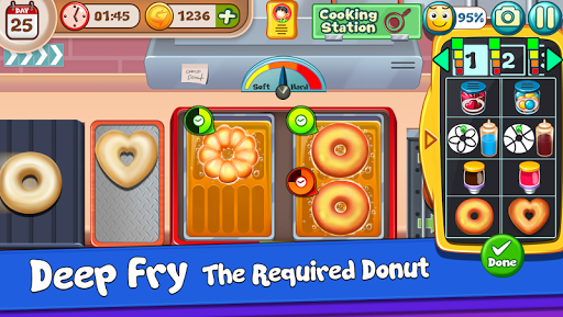 Donut Truck - Cafe Kitchen Cooking Games filehippodl screenshot 1