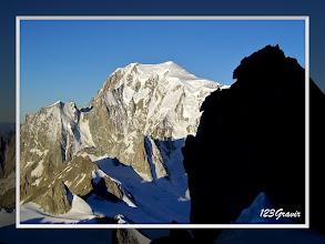 Photo: Mont-Blanc à l'aube