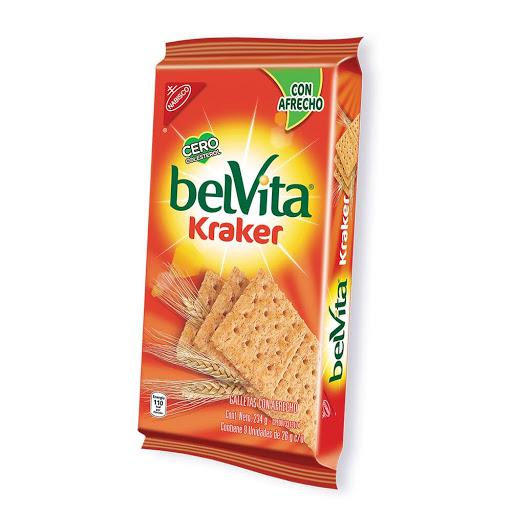 Galletas Kraker Bran Belvita 9Und