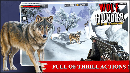 Wolf Hunter 2020: Offline Hunter Action Games 2020 for PC-Windows 7,8,10 and Mac apk screenshot 3