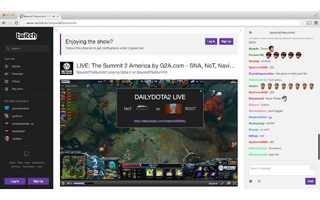 DailyDota2 Twitch Notifier V2