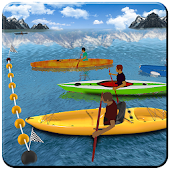 Kayak Boat Racer Game 2108: 3D Racing Simulator