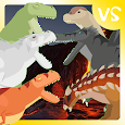 T-Rex Fights Dinosaurs - Dominator Edition apk