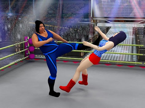 Women Wrestling Super Stars 2017: Slam Death Match apk screenshot