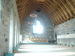 Photo: King Haakon's great hall - reminded me of Beowulf's mead hall.