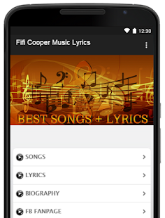 Fifi Cooper Music Lyrics - náhled