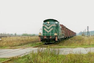 Photo: SM42-186 {szlak Toruń Wschodni - Ostaszewo Toruńskie; 2003-10-20}