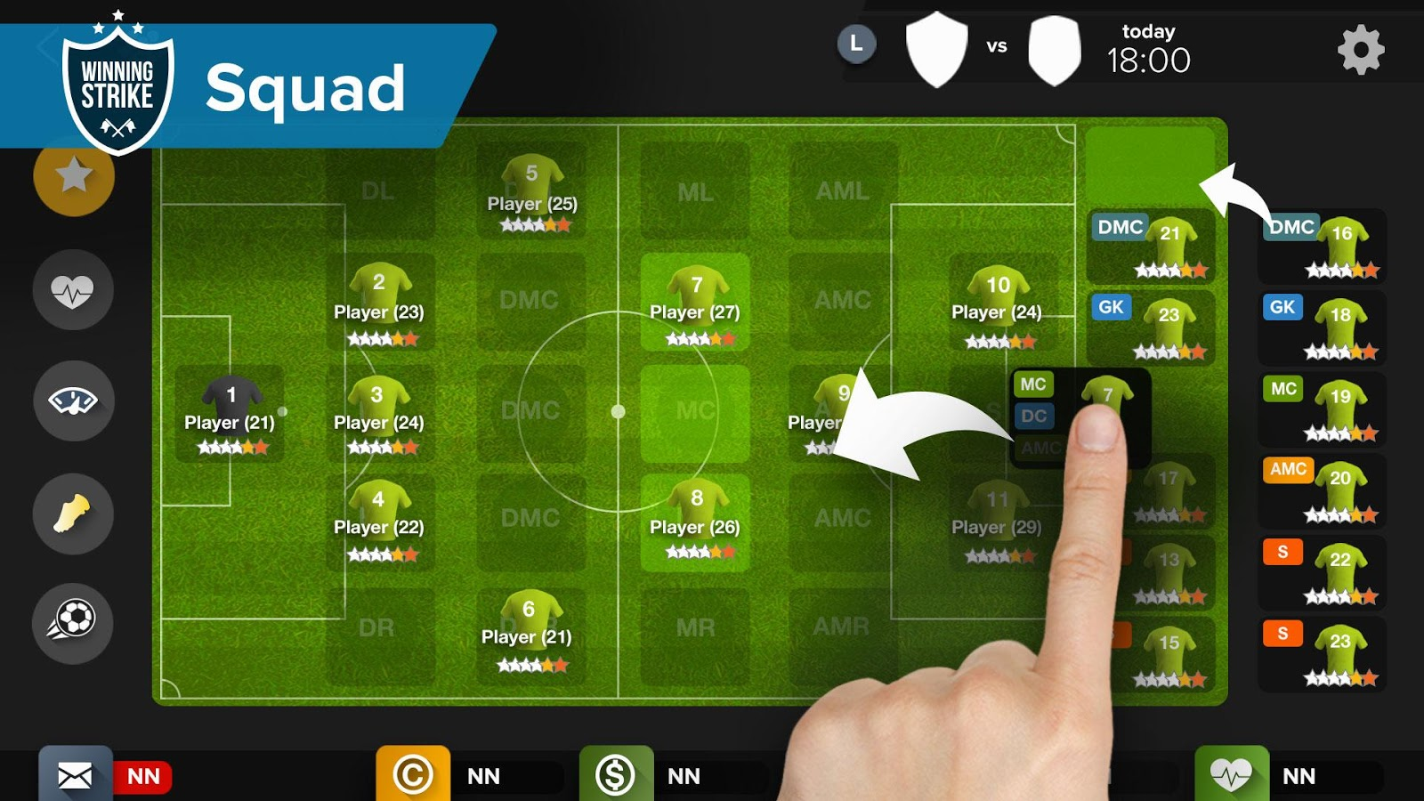 ws football manager 2017 u2013 android apps on google play