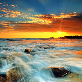 Bright Day by Agoes Antara - Landscapes Waterscapes