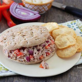 Skinny Tuna Sandwich.