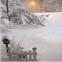 White Snow Light LWP icon
