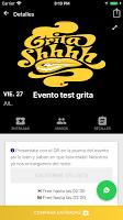 screenshot of Grita Shhhh