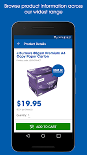 Officeworks- screenshot thumbnail