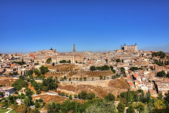 """Photo: Former capital of Spain, Toledo, is one of the oldest cities in Europe. El Greco's """"The Burial of the Count of Orgaz"""" is here.  http://en.wikipedia.org/wiki/The_Burial_of_the_Count_of_Orgaz"""