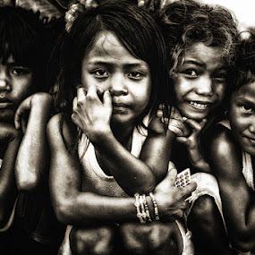 Little Girls From Nangadhero by Marcell Boli - Babies & Children Children Candids (  )